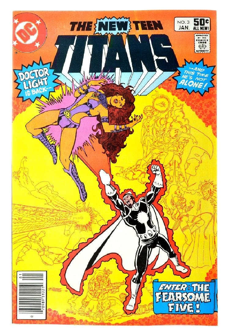 New Teen Titans (1980) Issue (Tales of ...) Issue  3