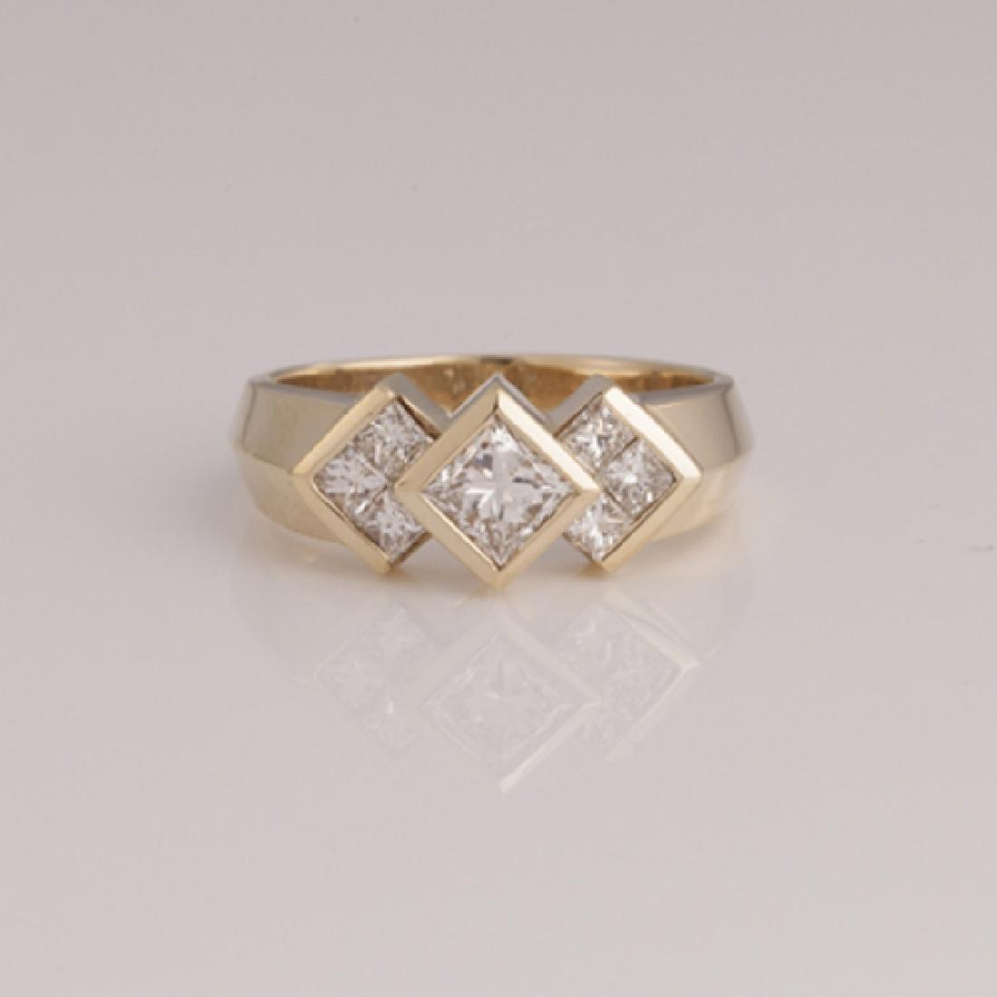 *Fine Jewelry 14 kt. Gold, New Custom Made 1.00CT