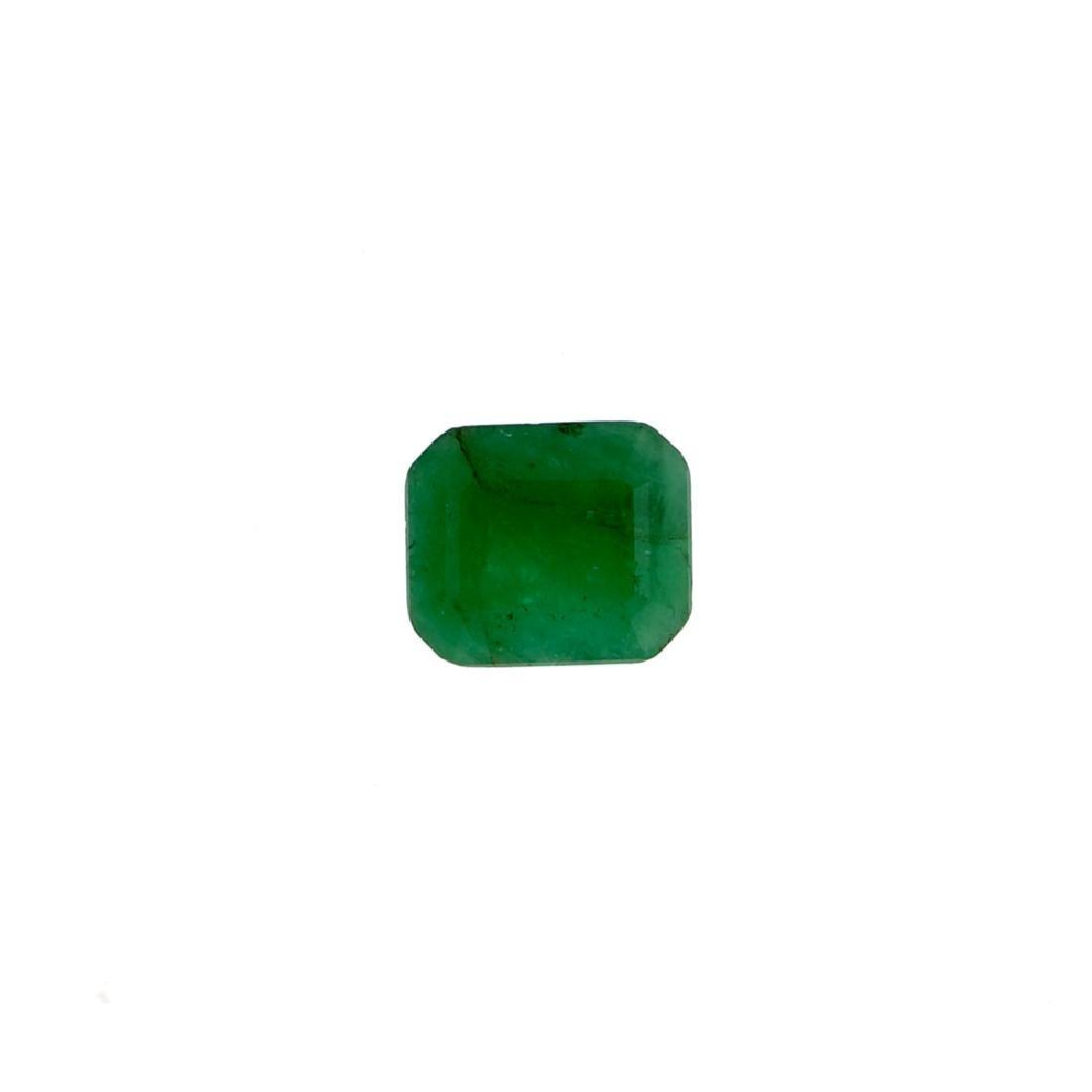APP: 1.6k 3.25CT Rectangular Step Cut Green Emerald