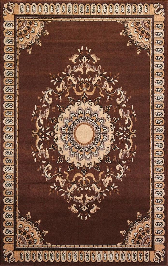 Gorgeous 5x8 Emirates (1515) Brown Rug High Quality
