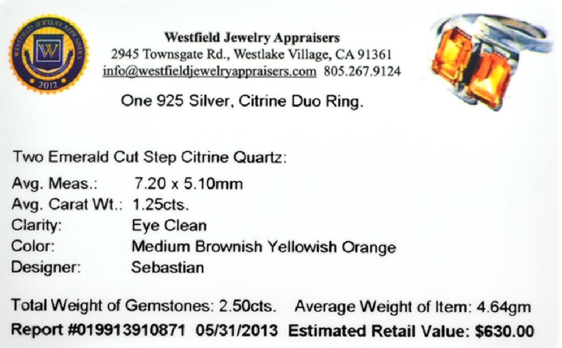 Fine Jewelry Designer Sebastian 2.50CT Emerald Cut Step - 2