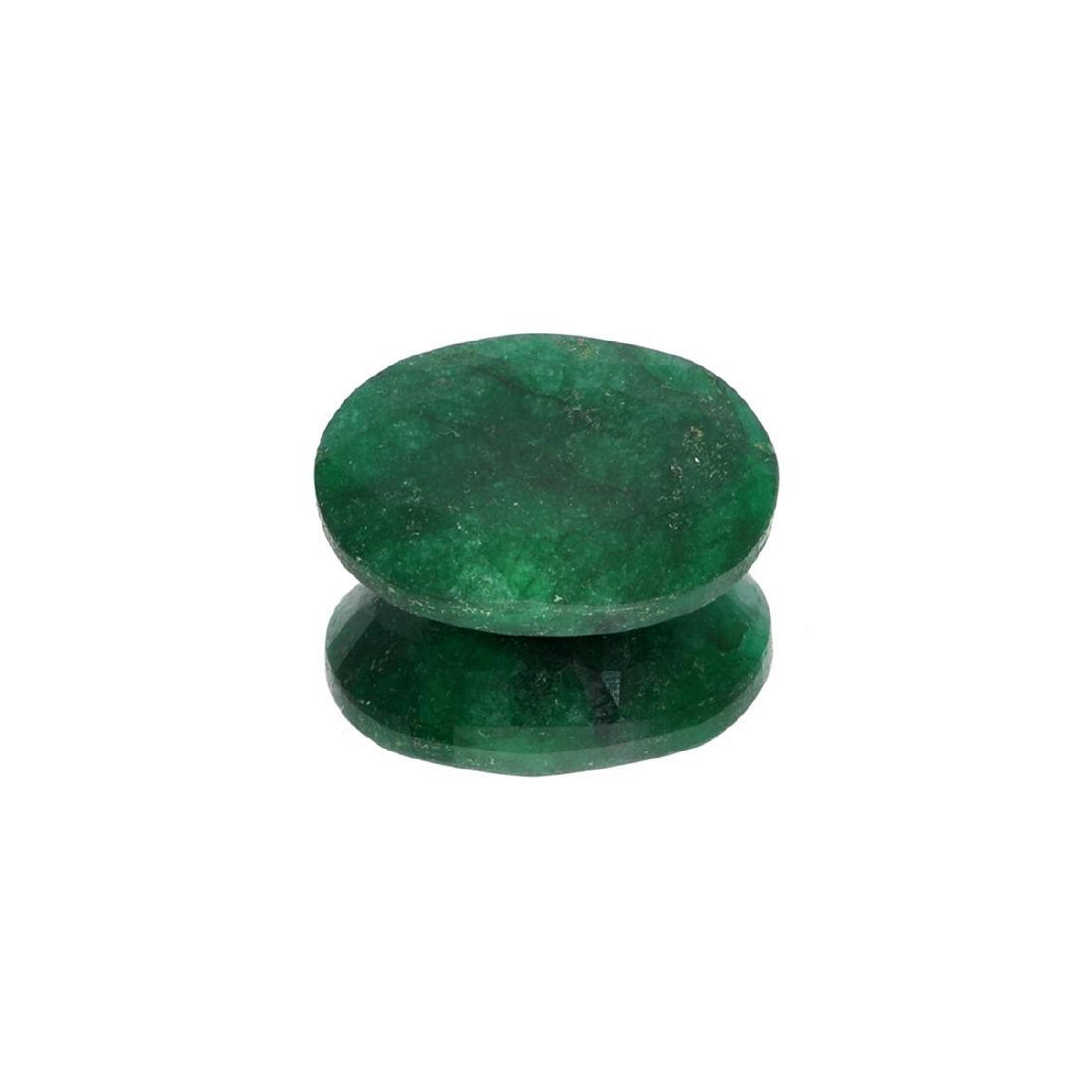 APP: 2.5k 33.80CT Oval Cut Green Emerald Gemstone