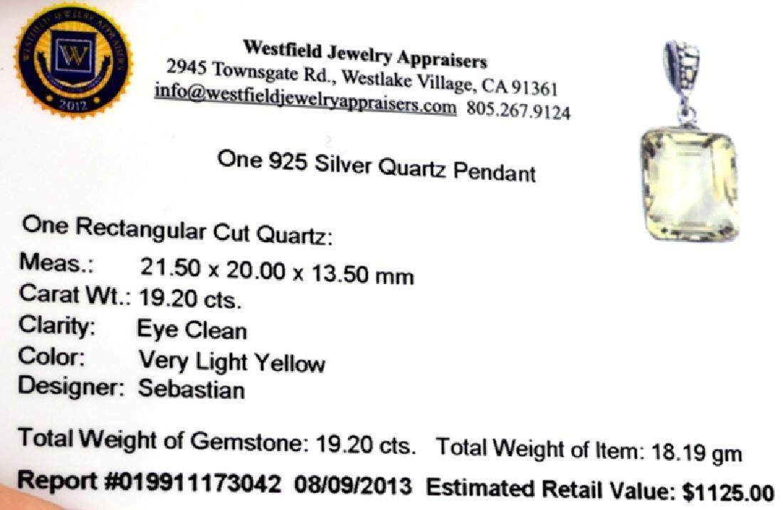 APP: 1.1k Fine Jewelry Designer Sebastian 19.20CT - 2