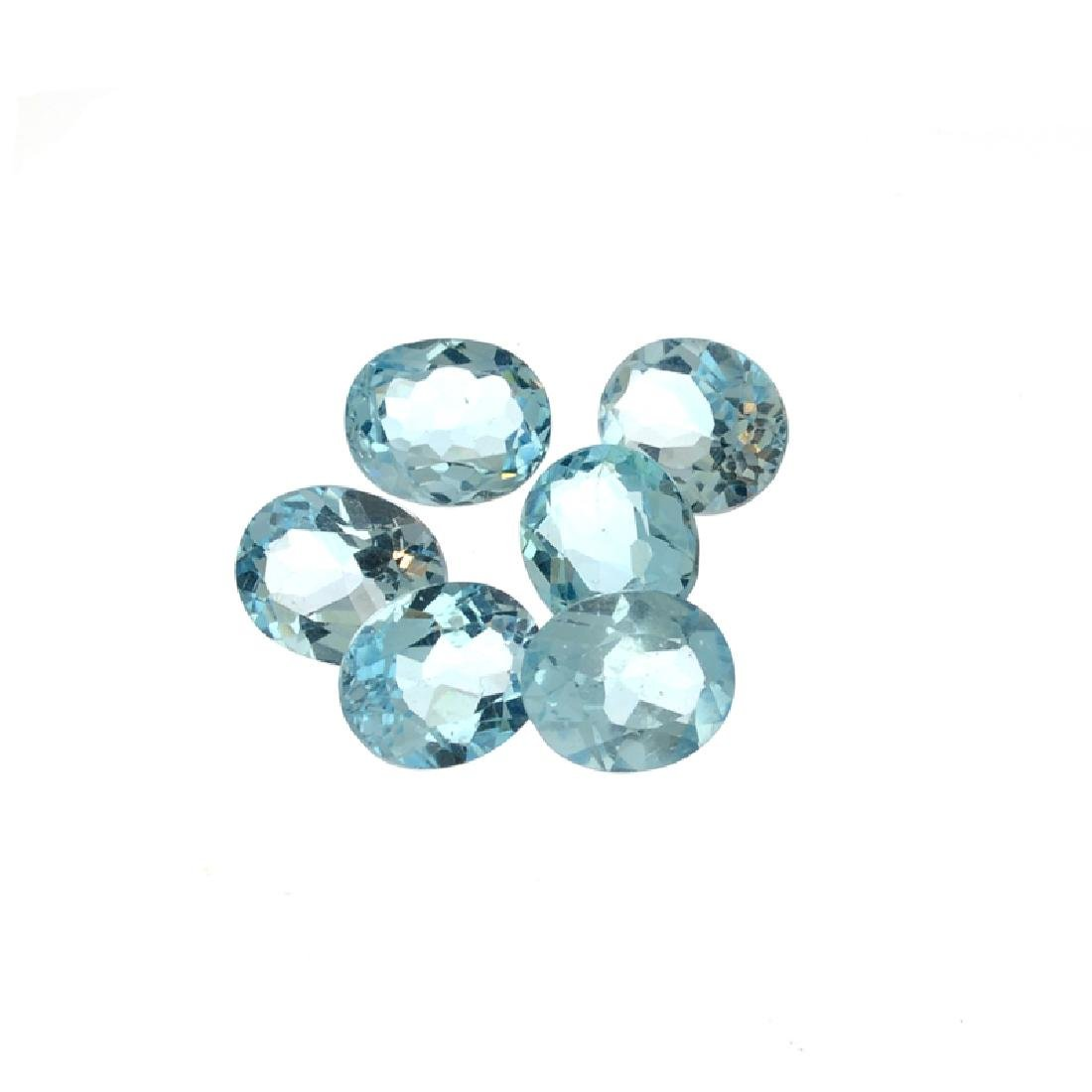 25.20CT Blue Topaz Parcel