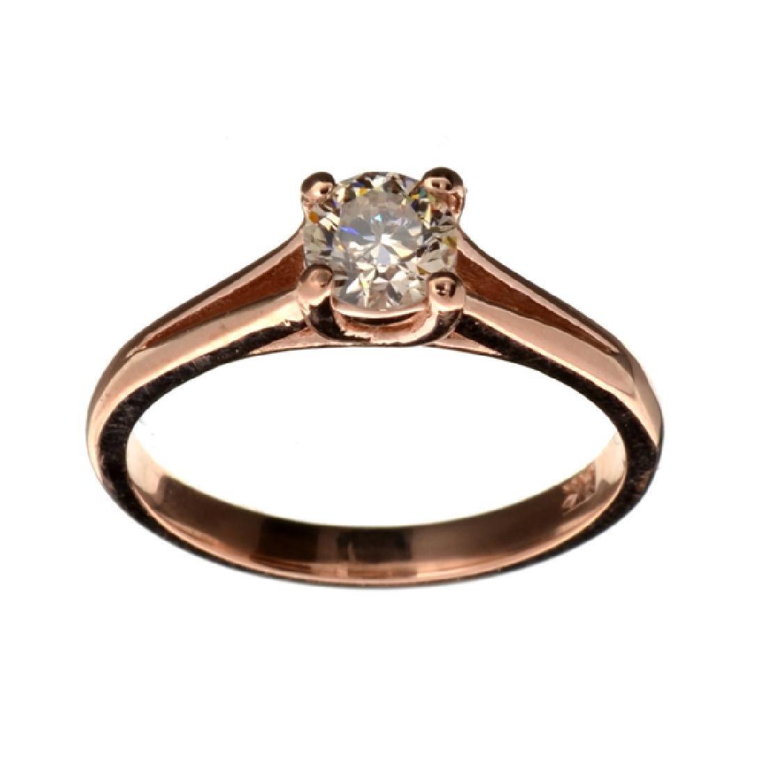 APP: 4.8k Fine Jewelry 14 kt. Rose Gold, 0.49CT