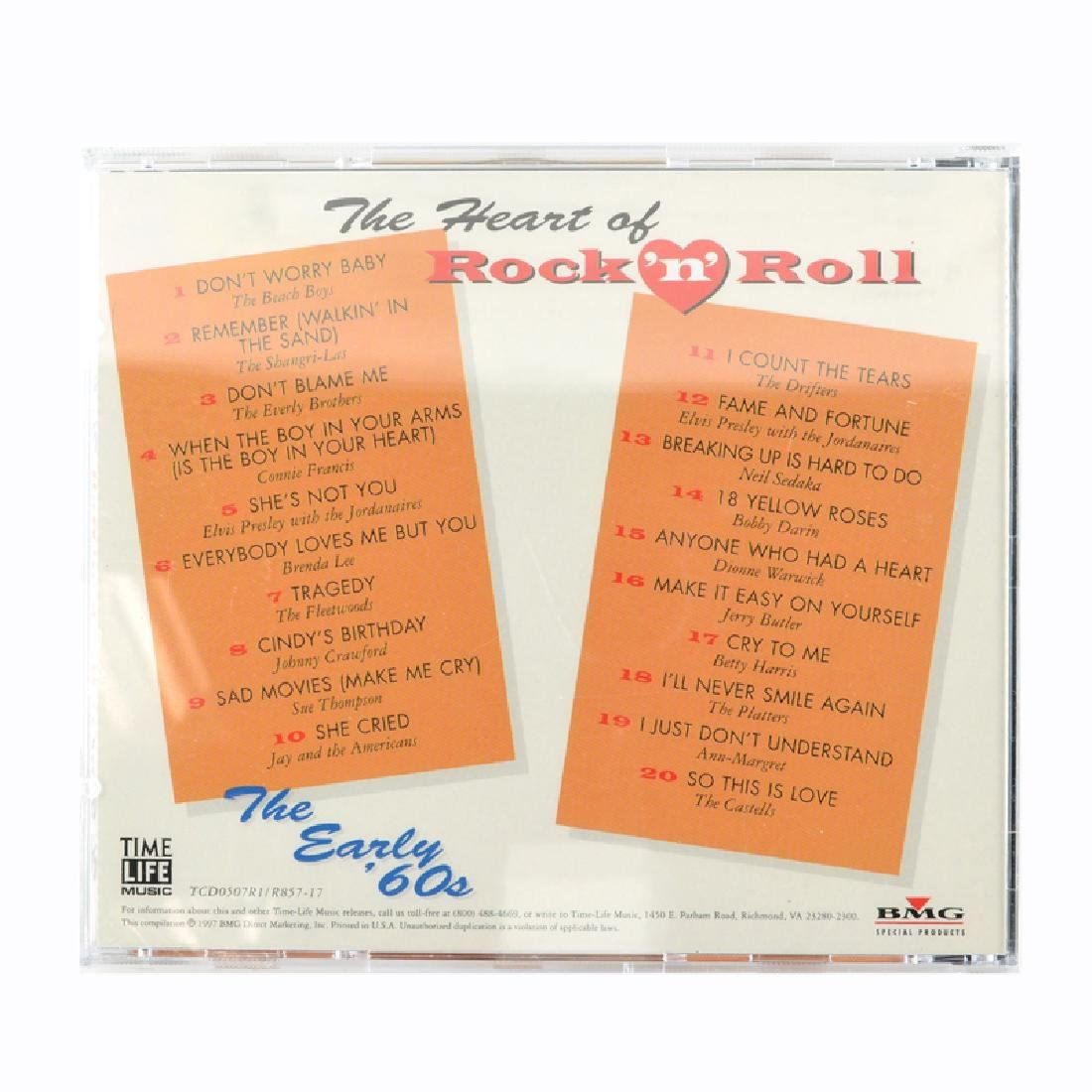 The Heart Of Rock 'N' Roll The Early '60s CDs - 2