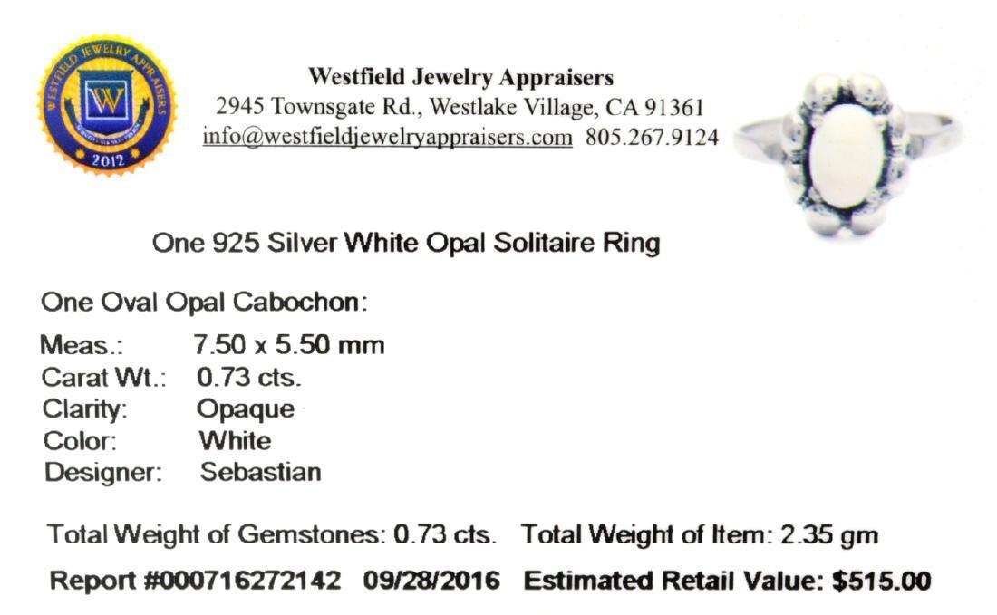 APP: 0.5k Fine Jewelry Designer Sebastian 0.73CT Oval - 2