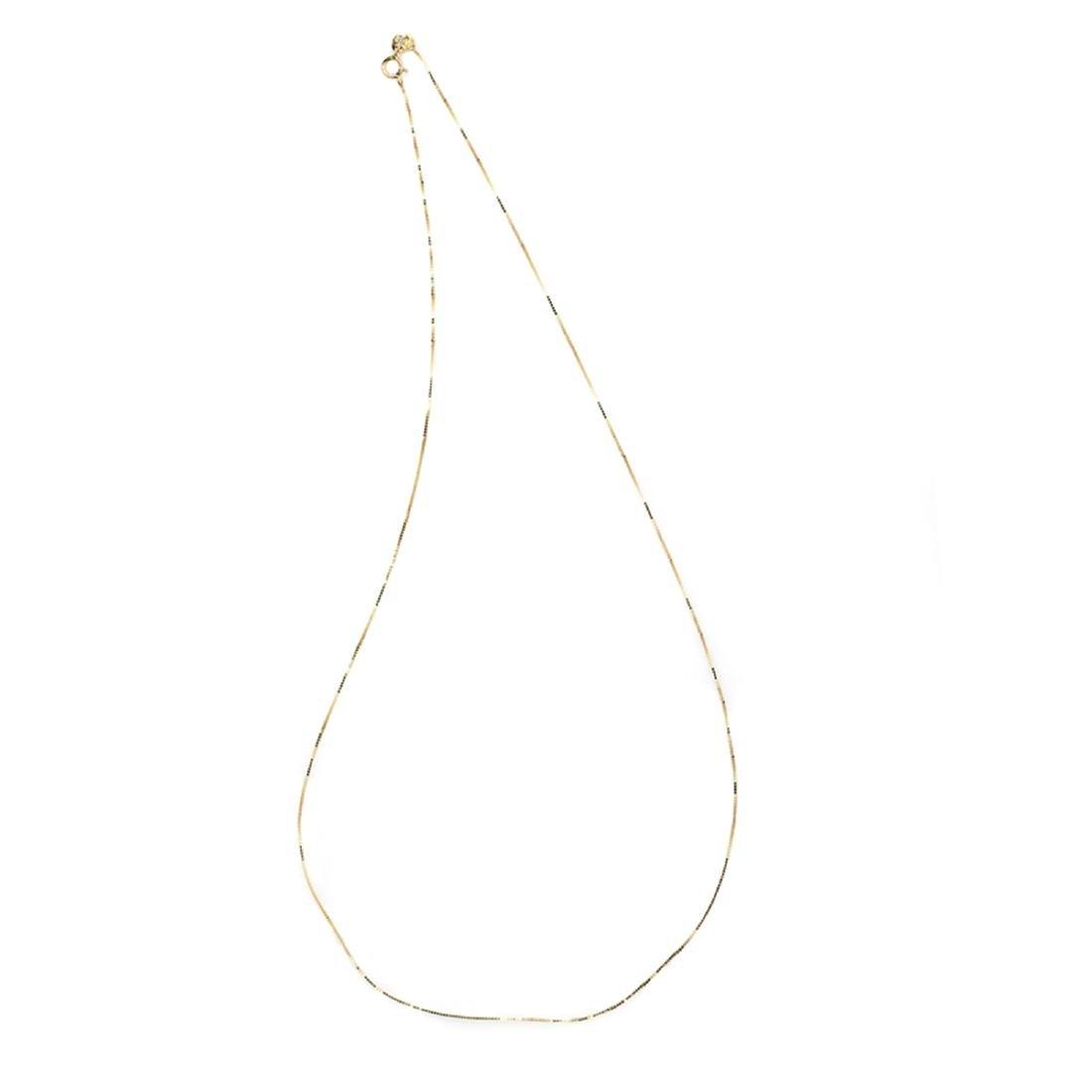 *Fine Jewelry 14 KT Gold, 1.0GM, 18'' Chain (GL Neck