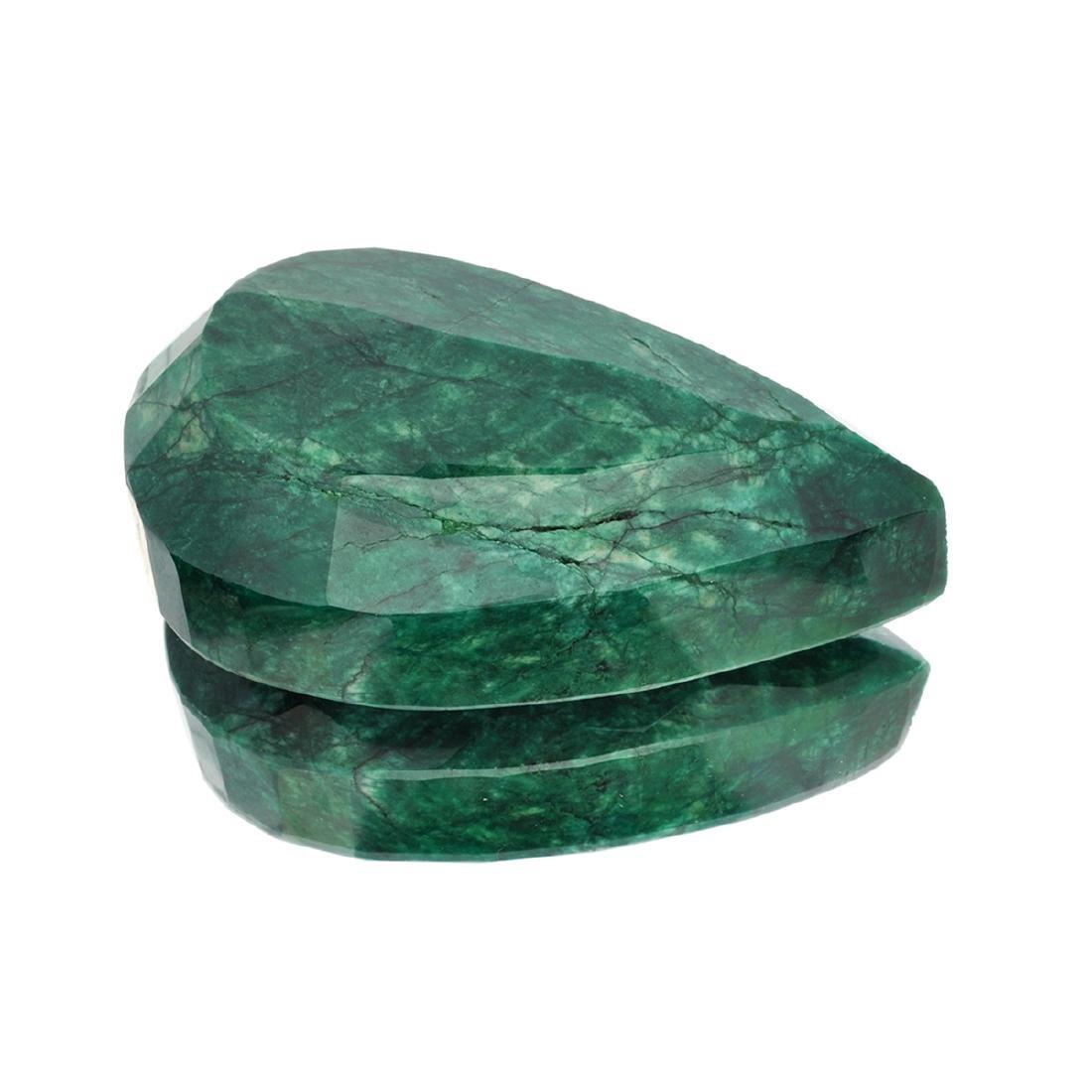 APP: 4.6k 1,839.15CT Pear Cut Green Beryl Emerald - 2