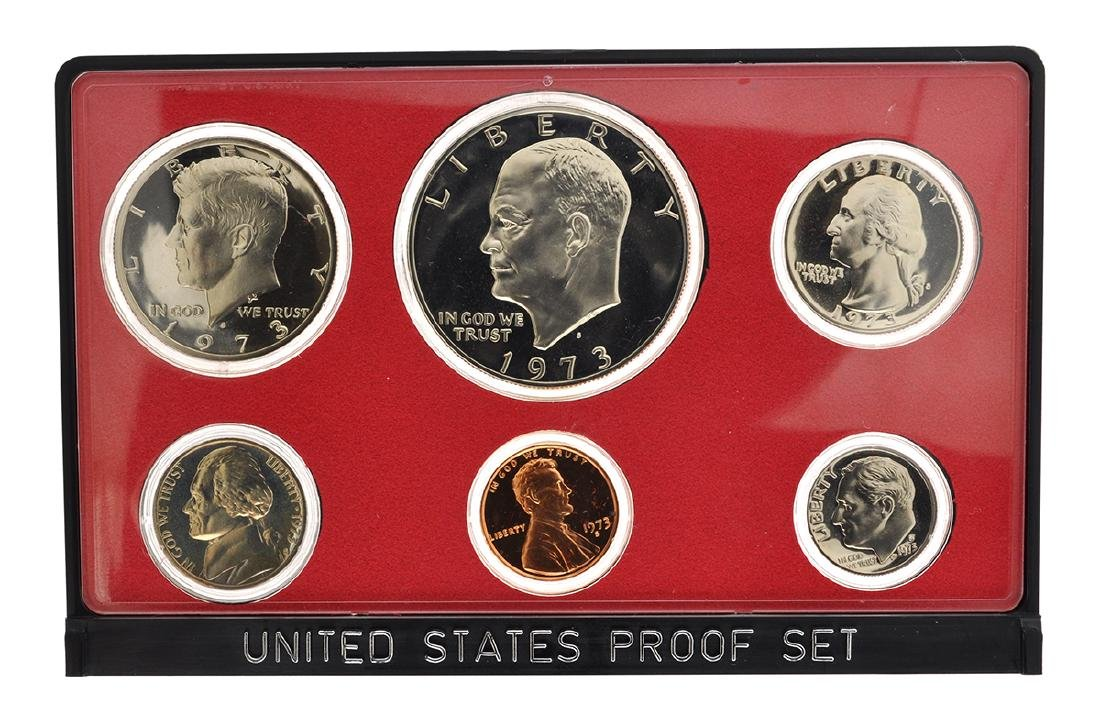 1973 United States Proof Coin Set