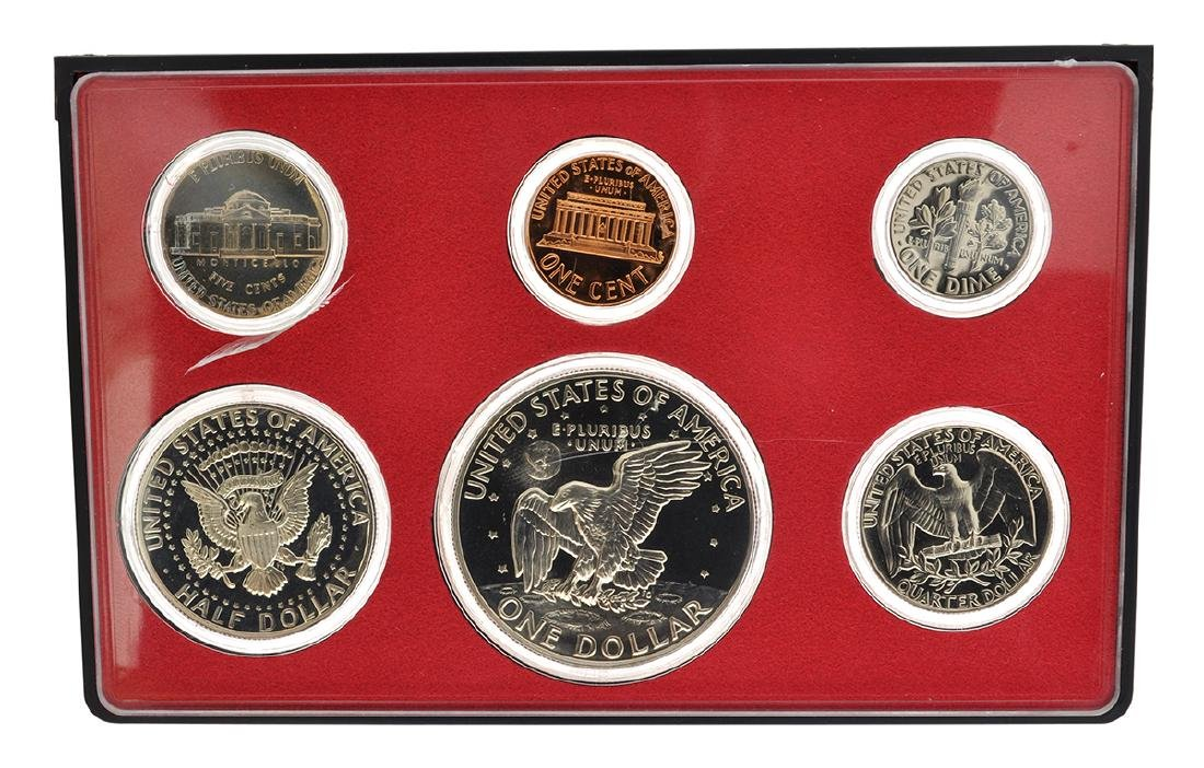 1973 United States Proof Coin Set - 2