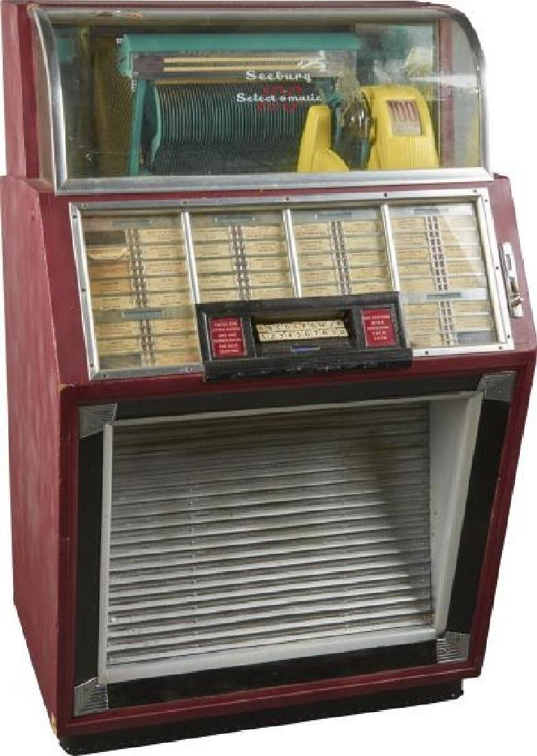 Multi-Coin Seeburg 100 Select-O-Matic Jukebox Needs