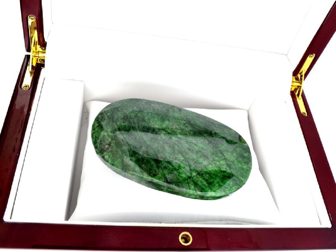 APP: 4.9k 972.05CT Oval Cut Green Beryl Emerald