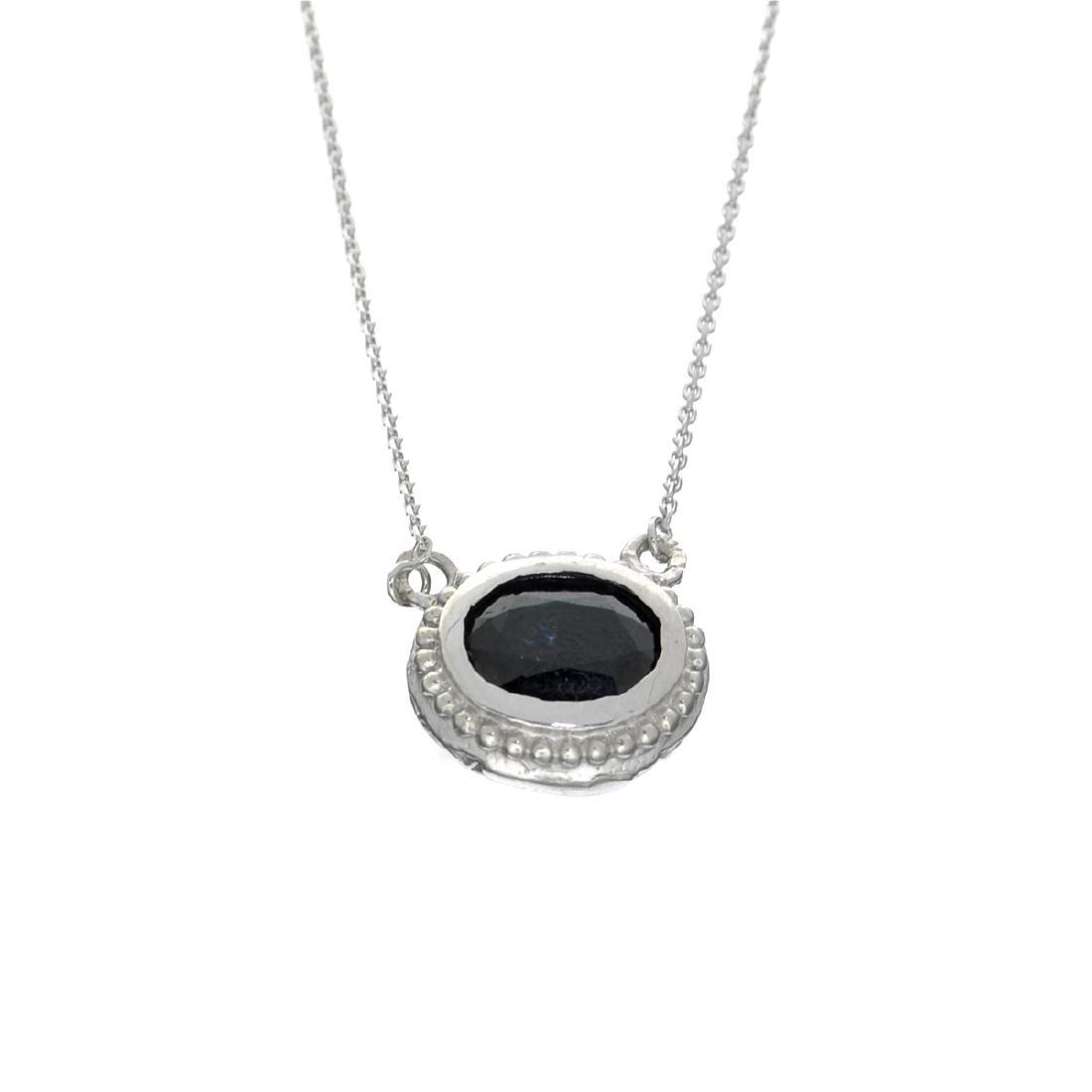 Fine Jewelry Designer Sebastian 2.82CT Oval Cut Blue