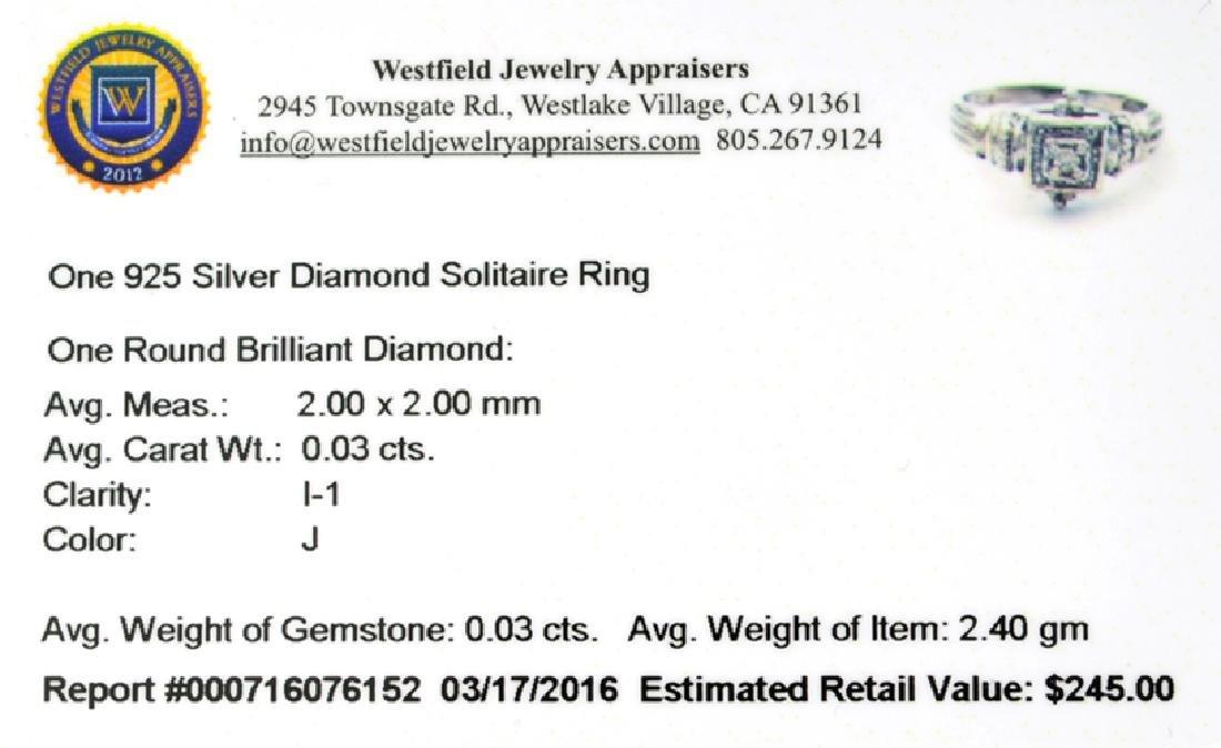 APP: 0.2k Fine Jewelry 0.03CT Round Brilliant Cut - 2