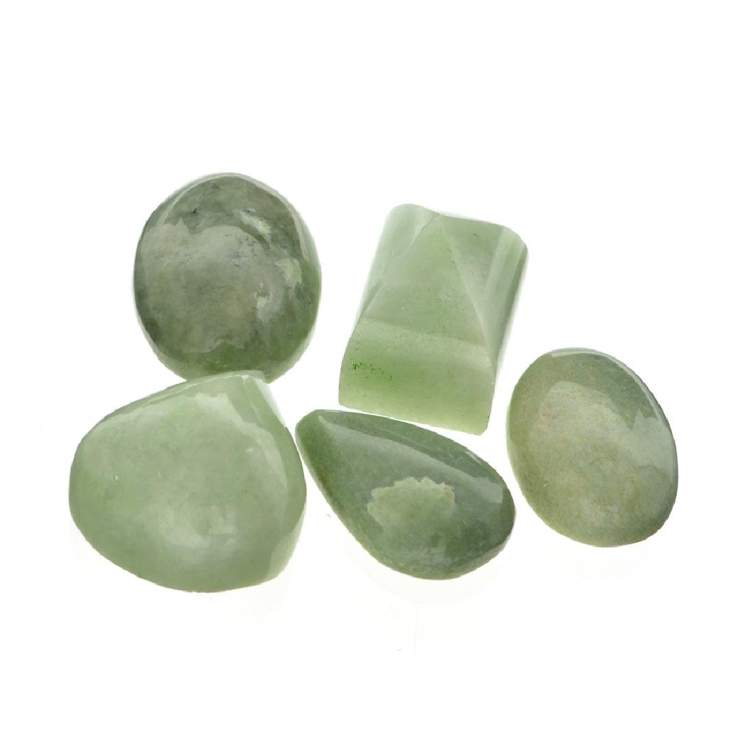 APP: 1.7k 216.30CT Various Shapes And sizes Nephrite