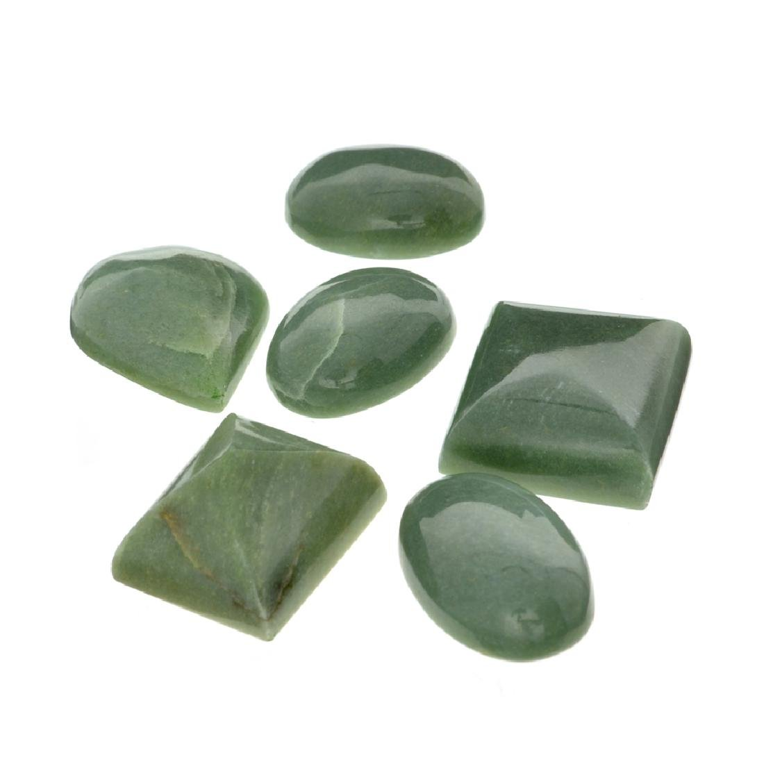 APP: 2.1k 263.98CT Various Shapes And sizes Nephrite
