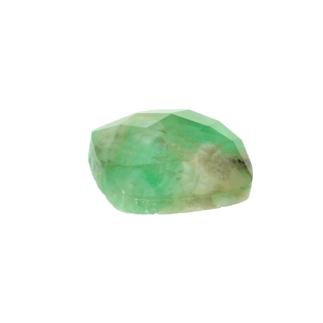 APP: 0.6k 5.53CT Cushion Cut Green Beryl Emerald