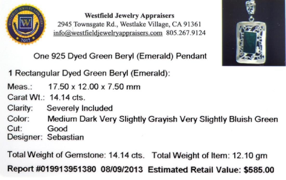 Fine Jewelry Designer Sebastian 14.14CT Rectangular Cut - 2
