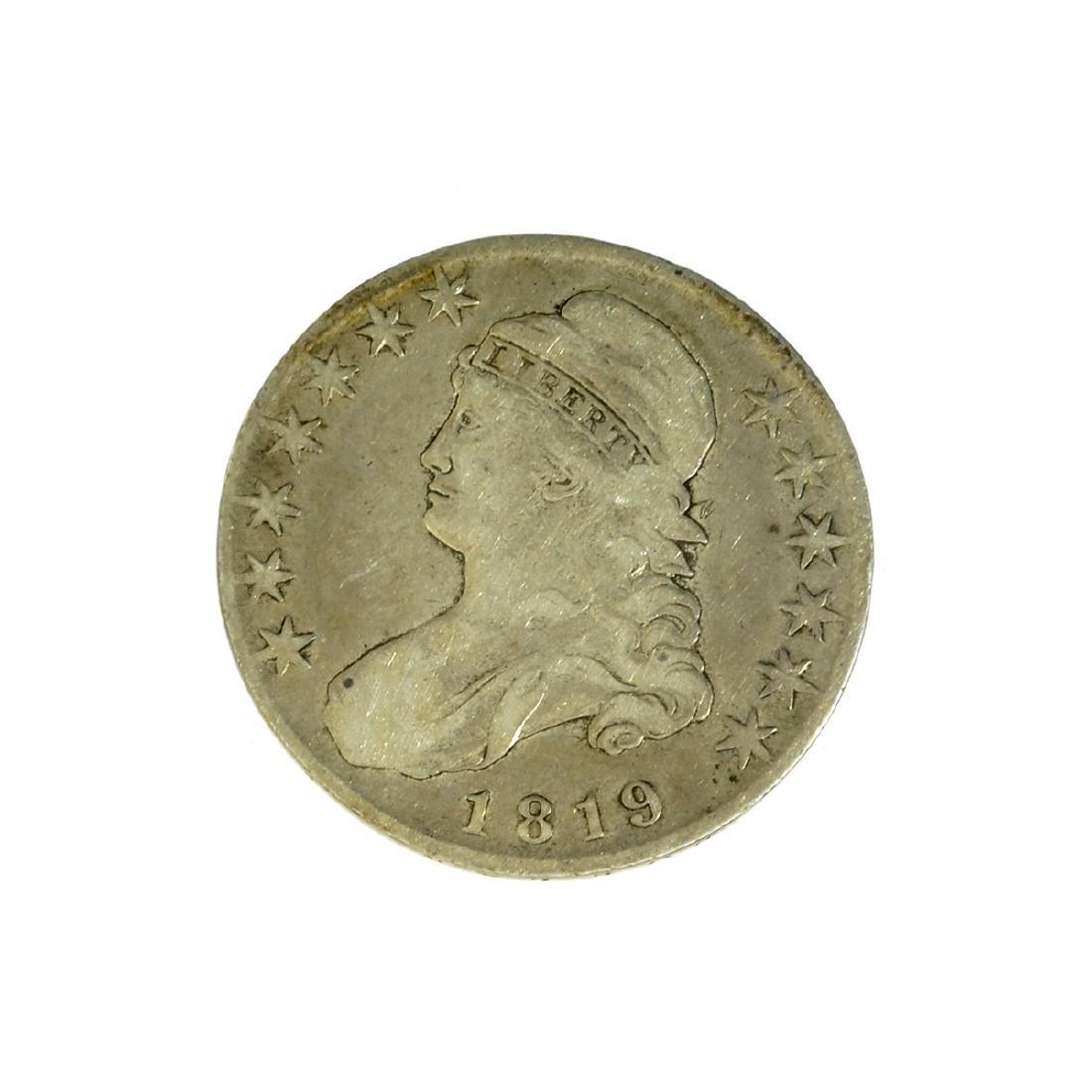 *1819 Capped Bust Half Dollar Coin (JG)
