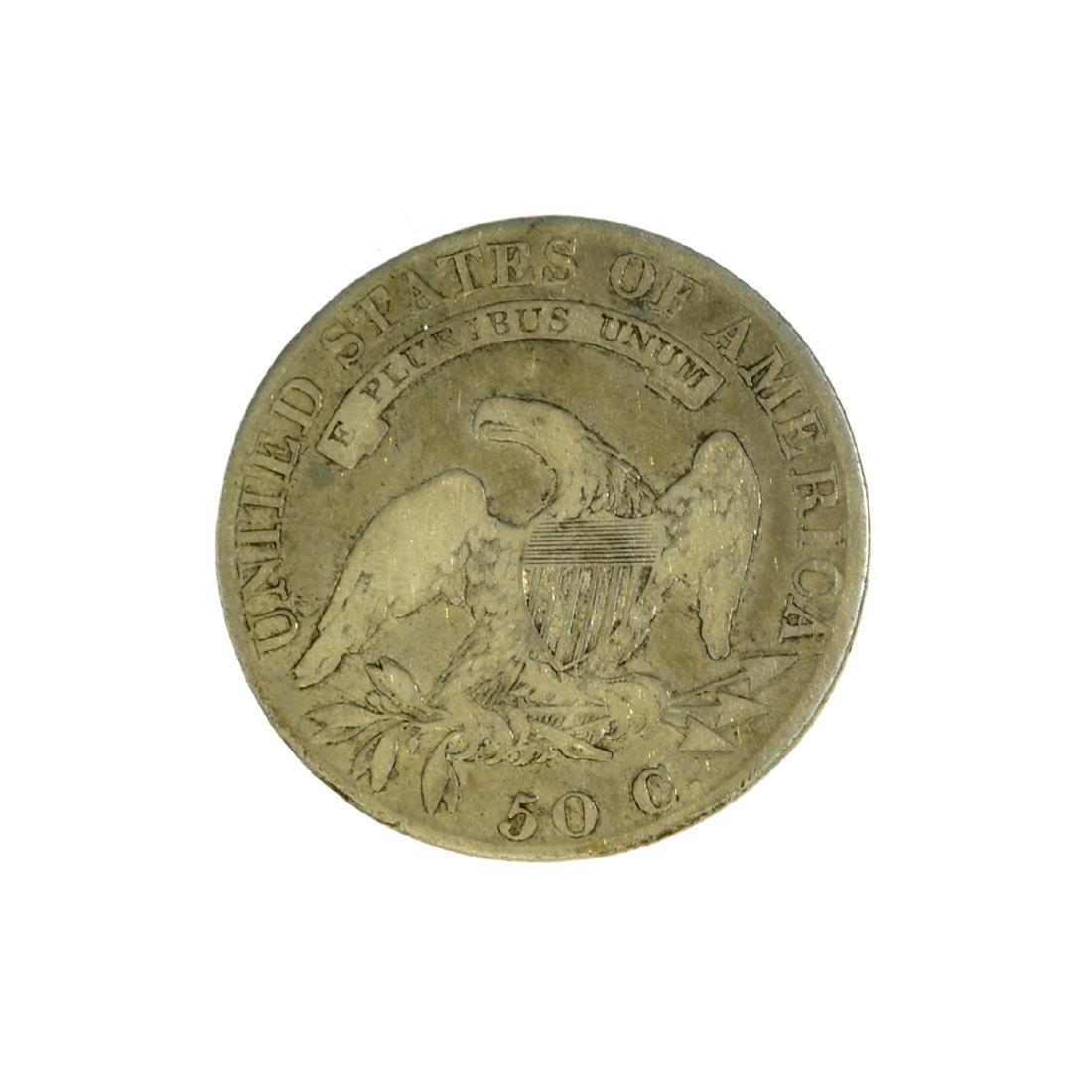 *1819 Capped Bust Half Dollar Coin (JG) - 2