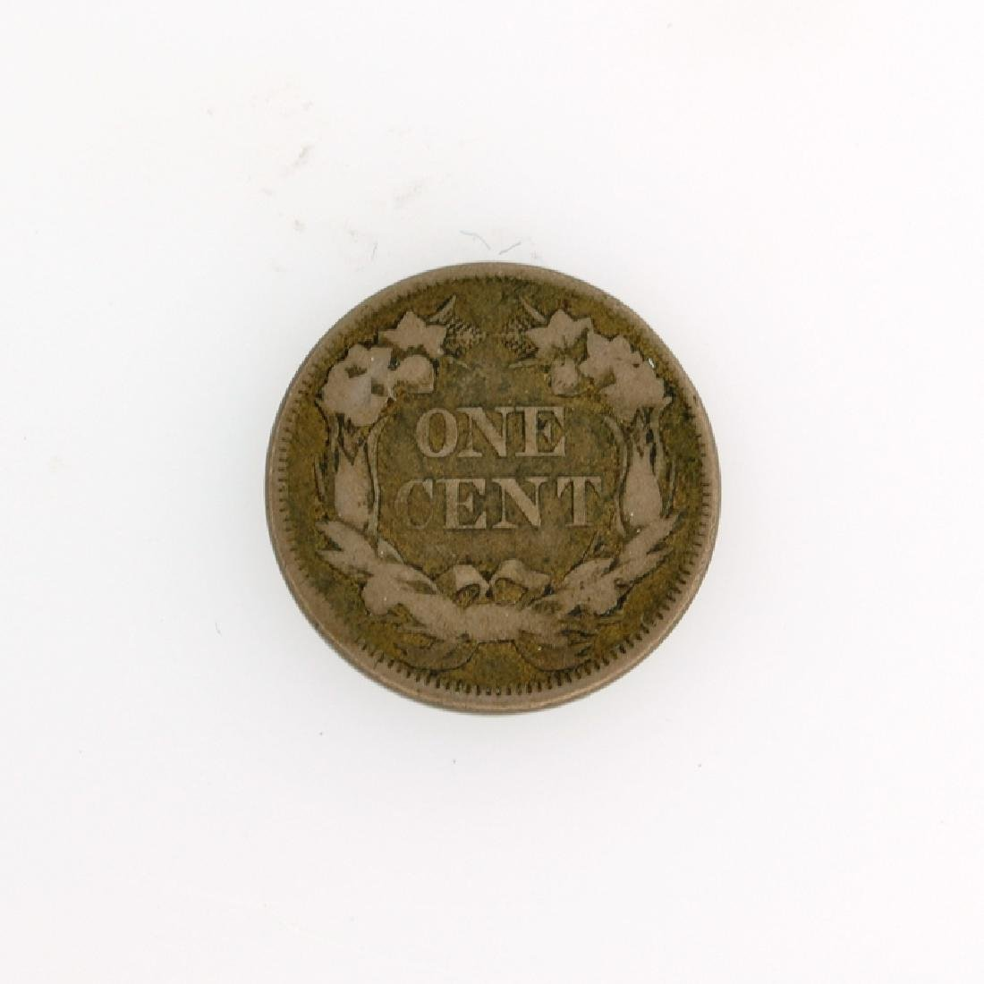 1858 Flying Eagle Cent Coin - 2