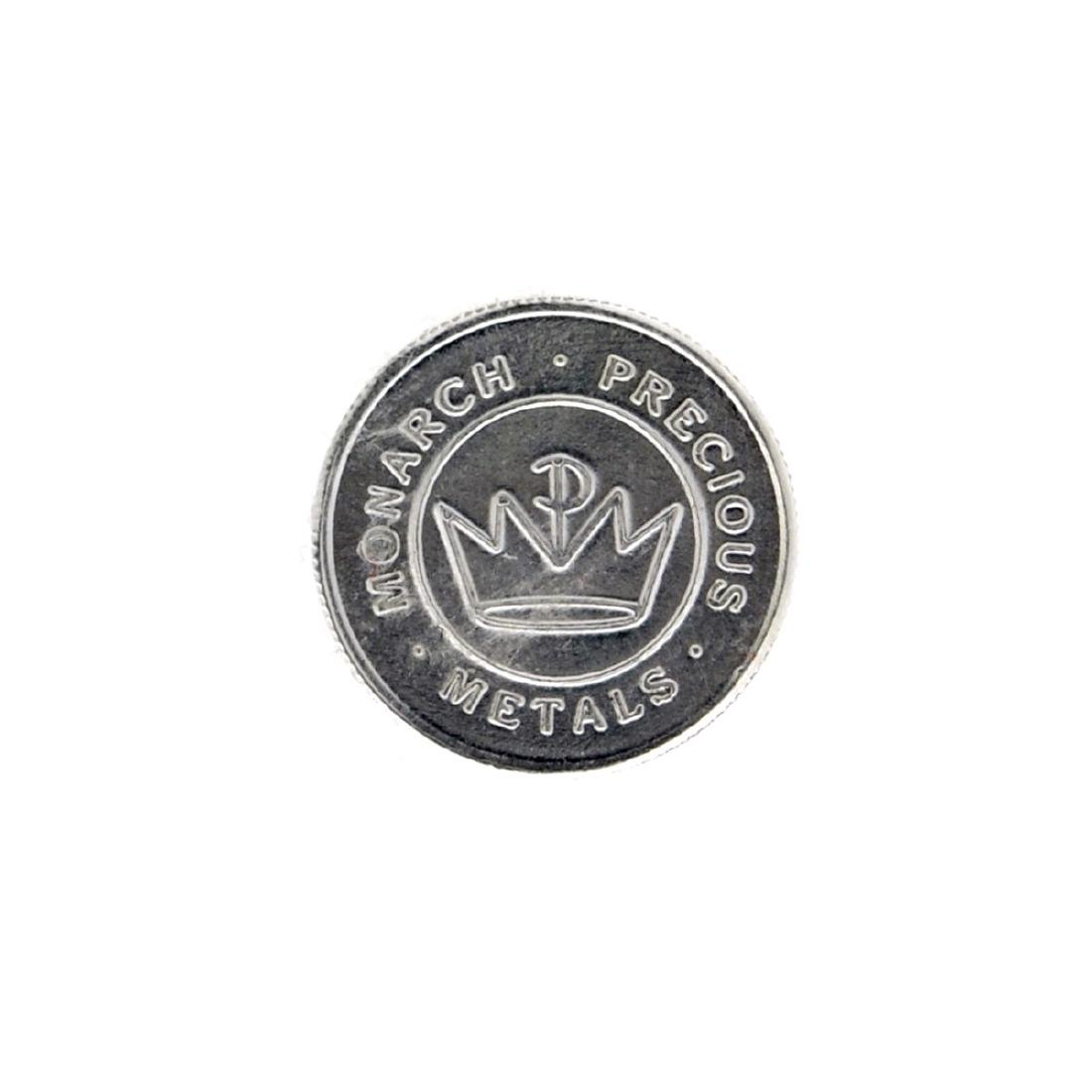 Beatiful 1 gram .999 Fine ''Salmon'' Silver Round Coin - 2