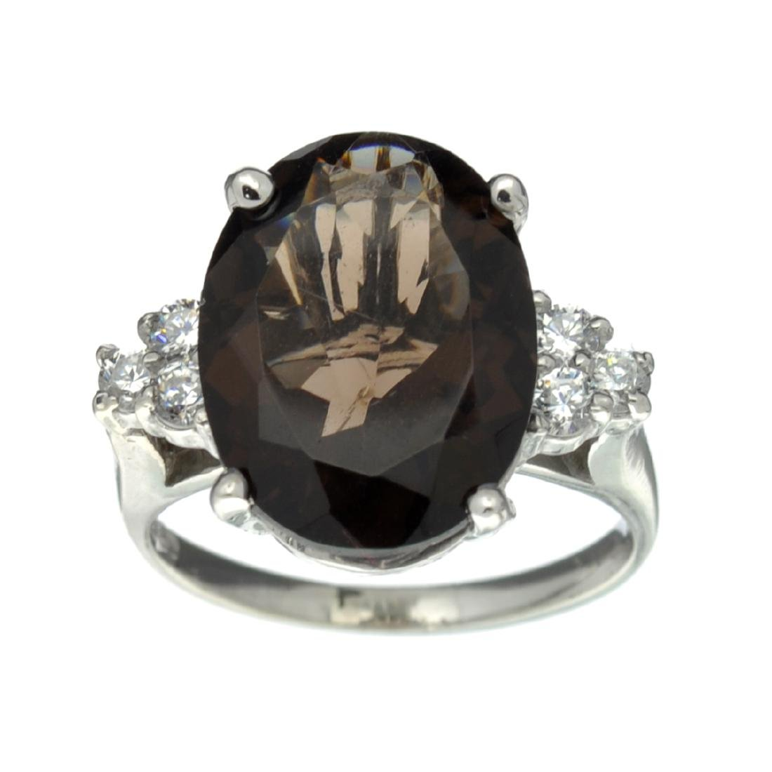 APP: 0.7k Fine Jewelry Designer Sebastian, 7.93CT Smoky