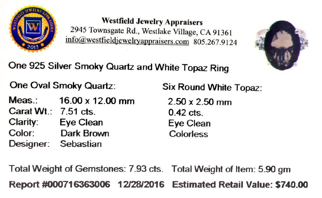 APP: 0.7k Fine Jewelry Designer Sebastian, 7.93CT Smoky - 2