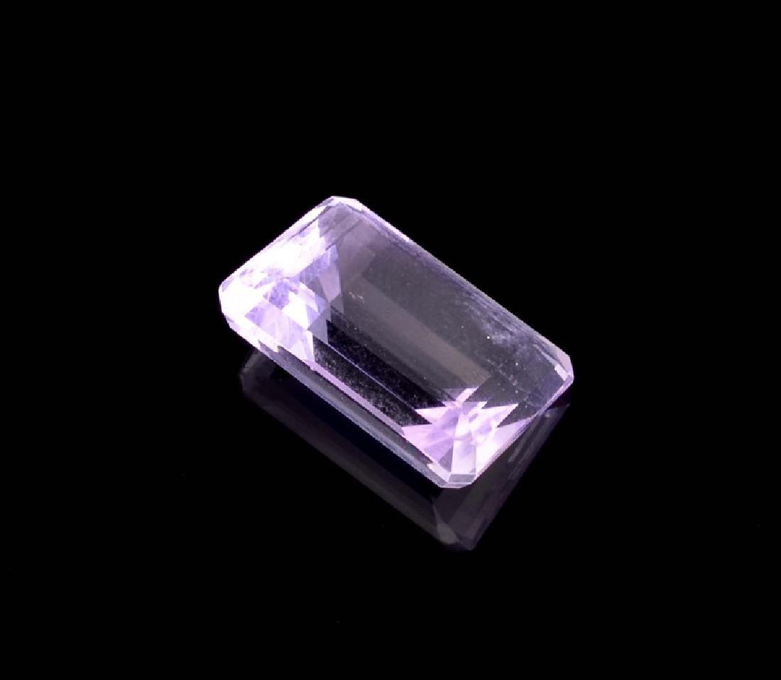 APP: 0.4k 15.00CT Emerald Cut Amethyst Quartz Gemstone