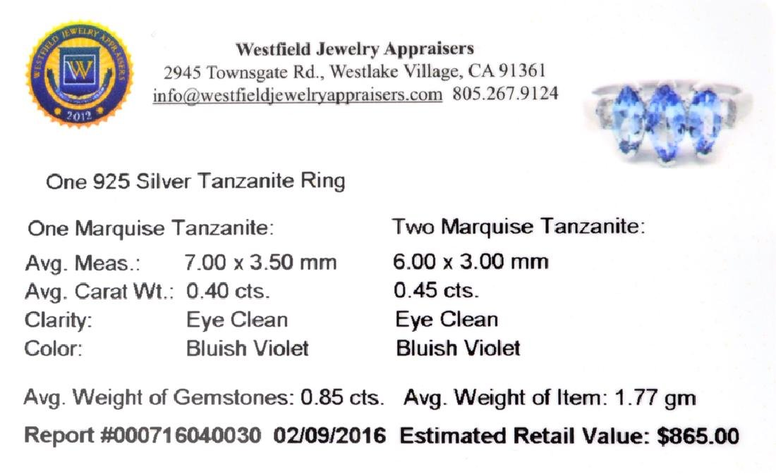 APP: 0.9k Fine Jewelry 0.40CT Marquise Cut Tanzanite - 2