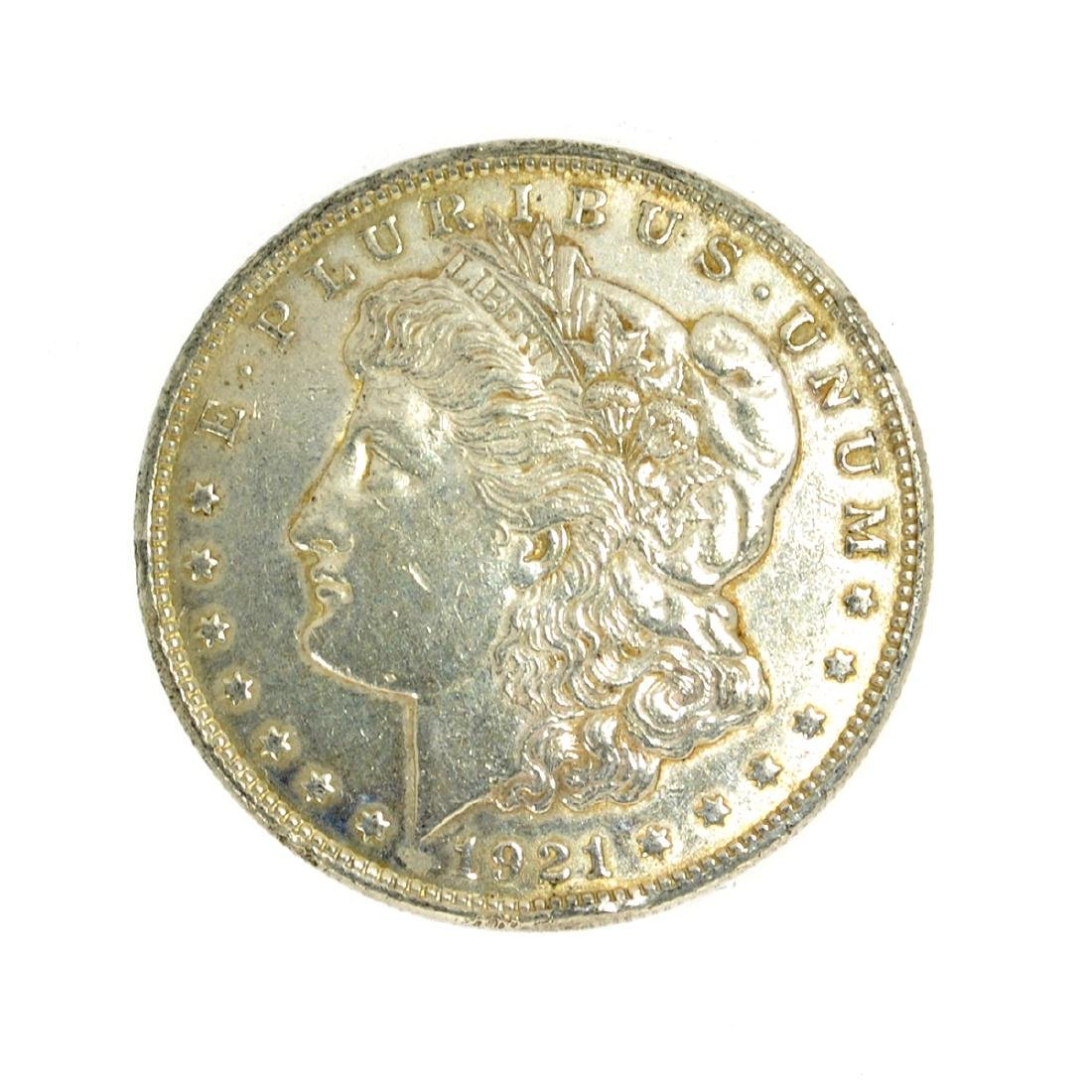 Rare 1921 Silver Dollar Coin