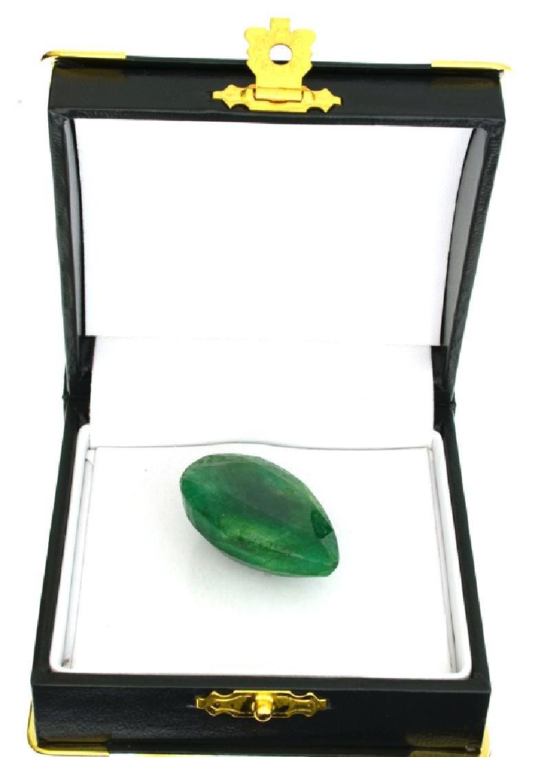 APP: 1.1k 55.11CT Pear Cut Green Beryl Gemstone