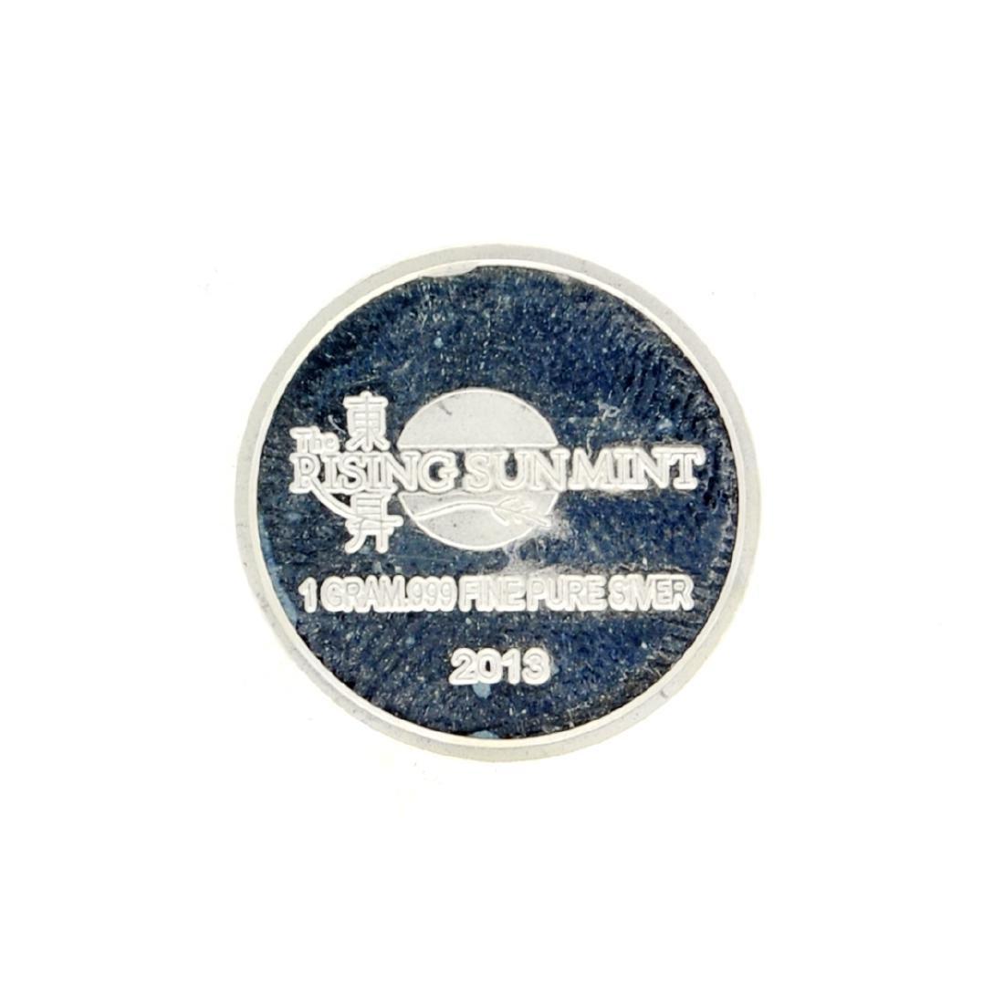 Beatiful 2013 1 gram ''Panda'' Silver Round Coin - 2