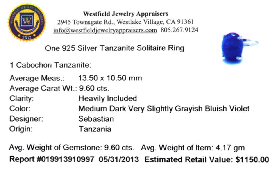 APP: 1.2k Fine Jewelry Designer Sebastian 9.60CT - 2