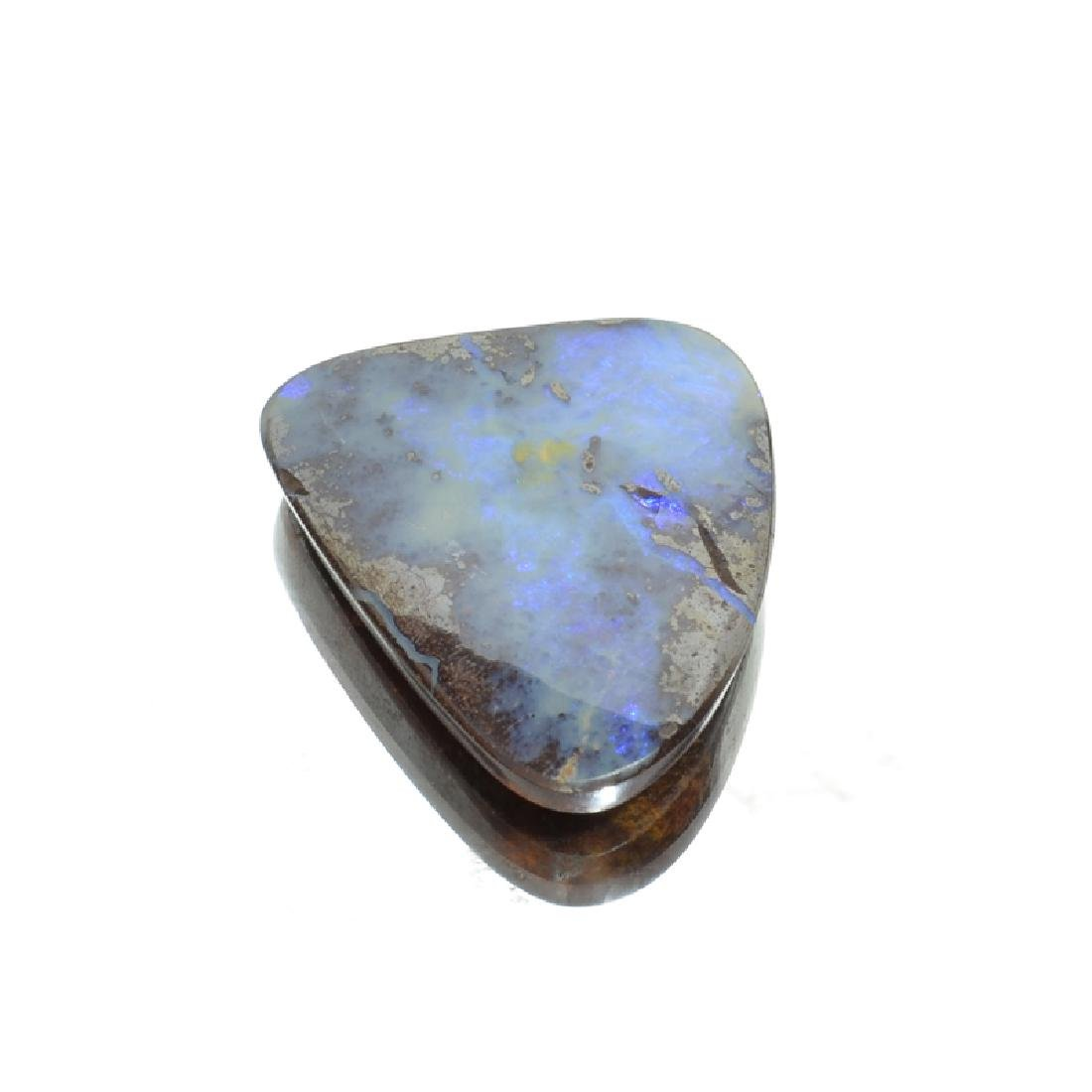 APP: 1.7k 69.10CT Free Form Cabochon Boulder Brown Opal