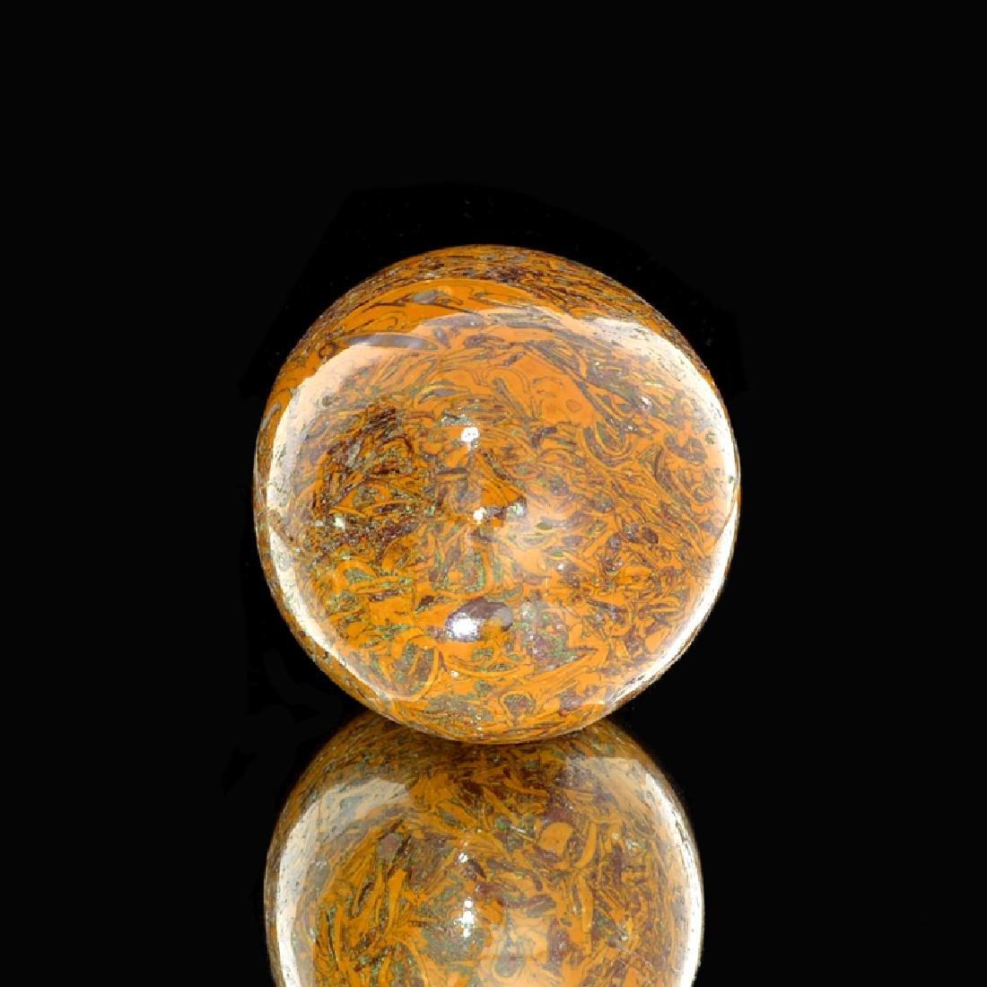 APP: 1k 975.00CT Ball Cut Golden Brown Marium Gemstone