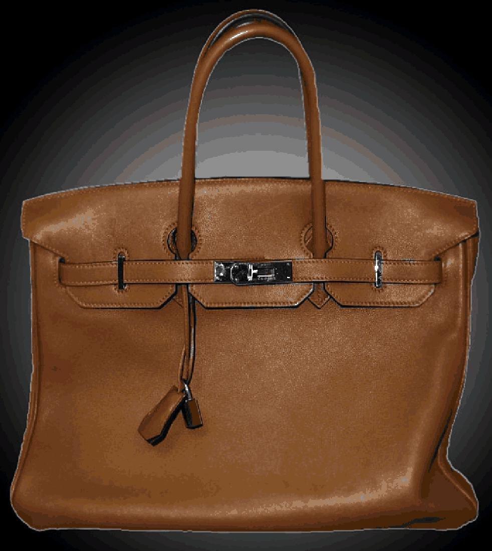 Authentic Hermes Birken Bag W 22500 High End  -P-