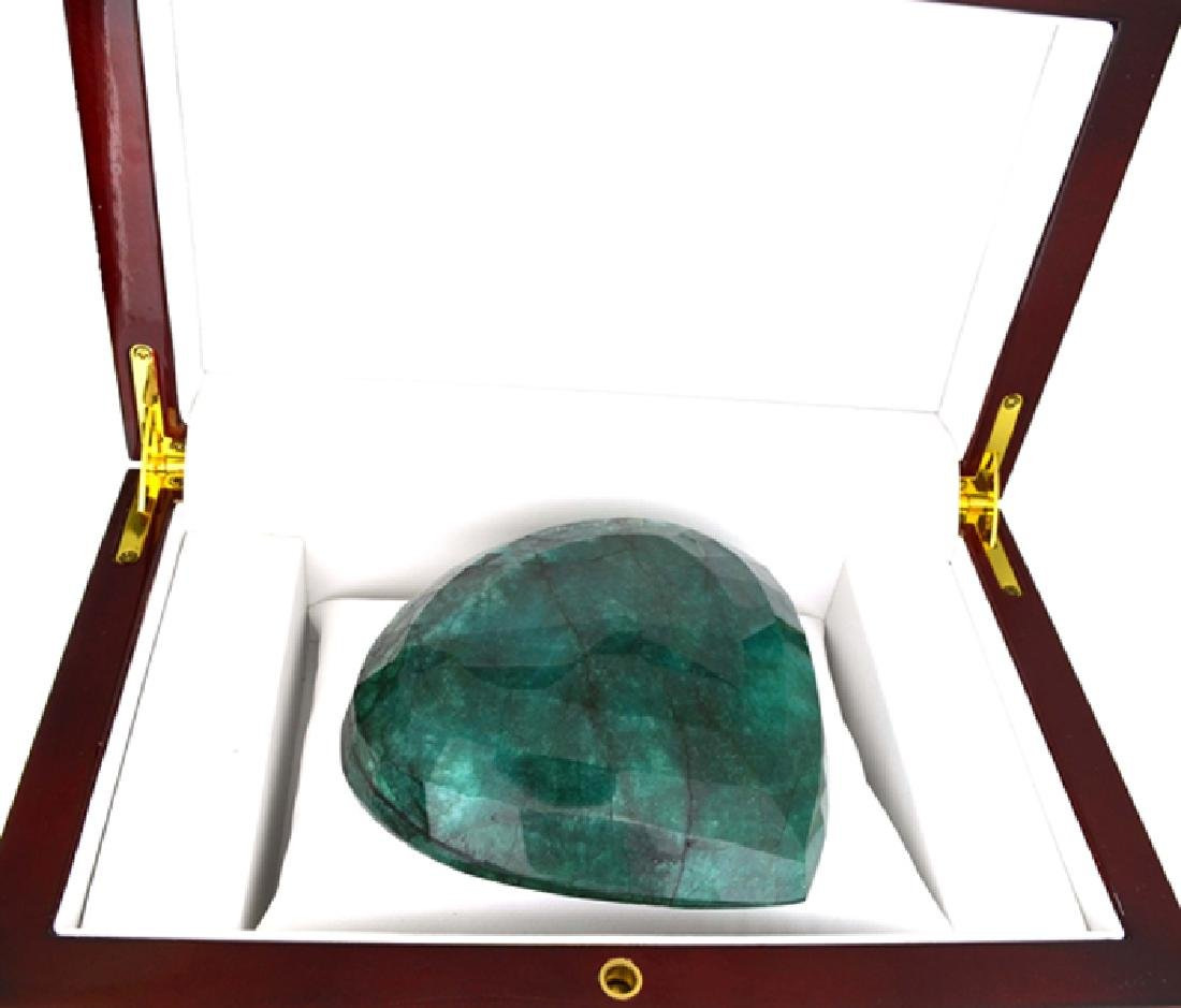 APP: 15.7k 1961.15CT Pear Cut Green Beryl Emerald - 2