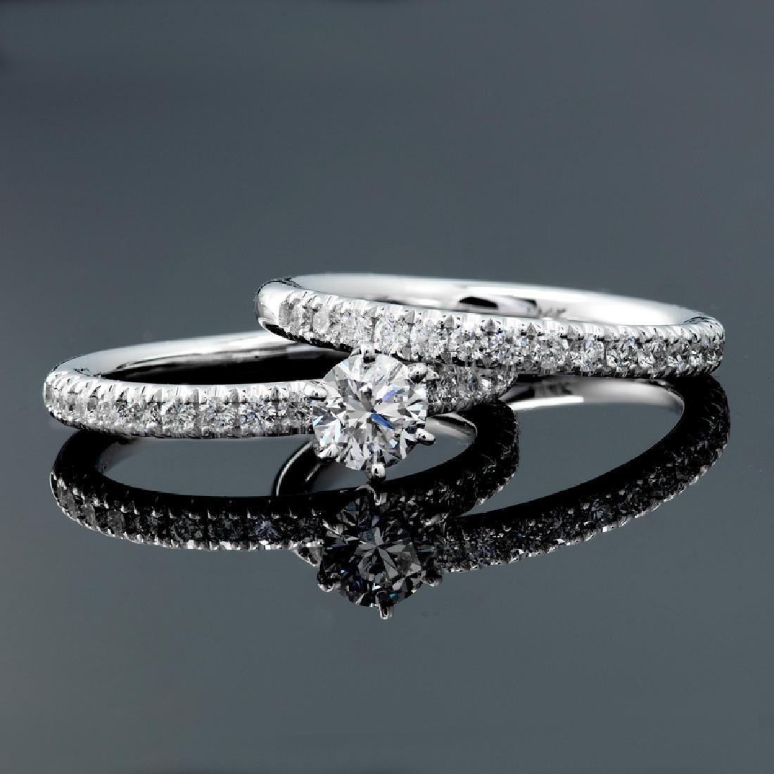 APP: 11.1k *Fine Jewelry 14 KT White Gold, 1.25CT Round