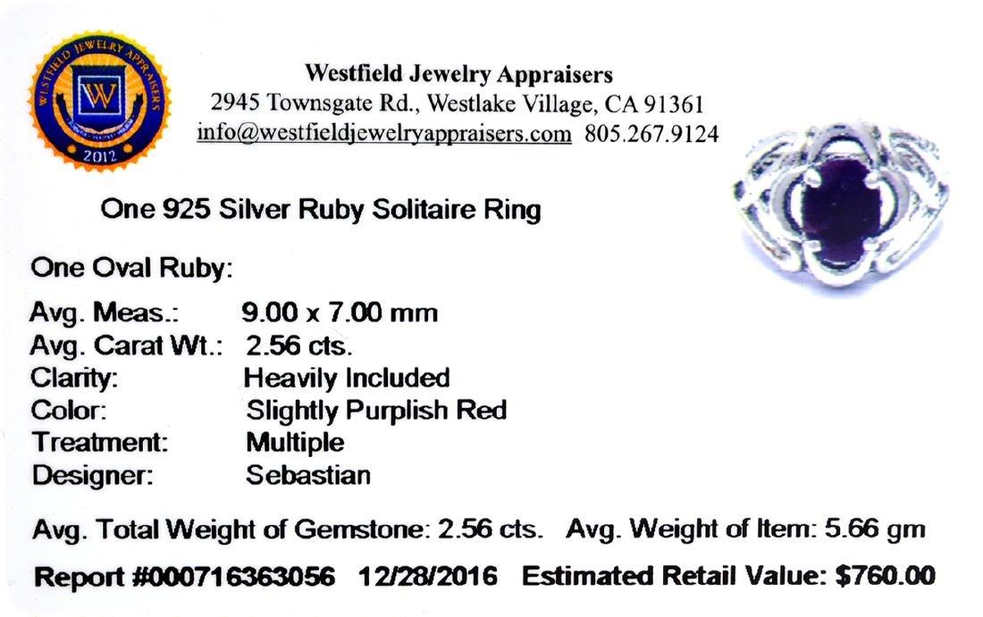 APP: 0.8k Fine Jewelry Designer Sebastian, 2.56CT Oval - 2