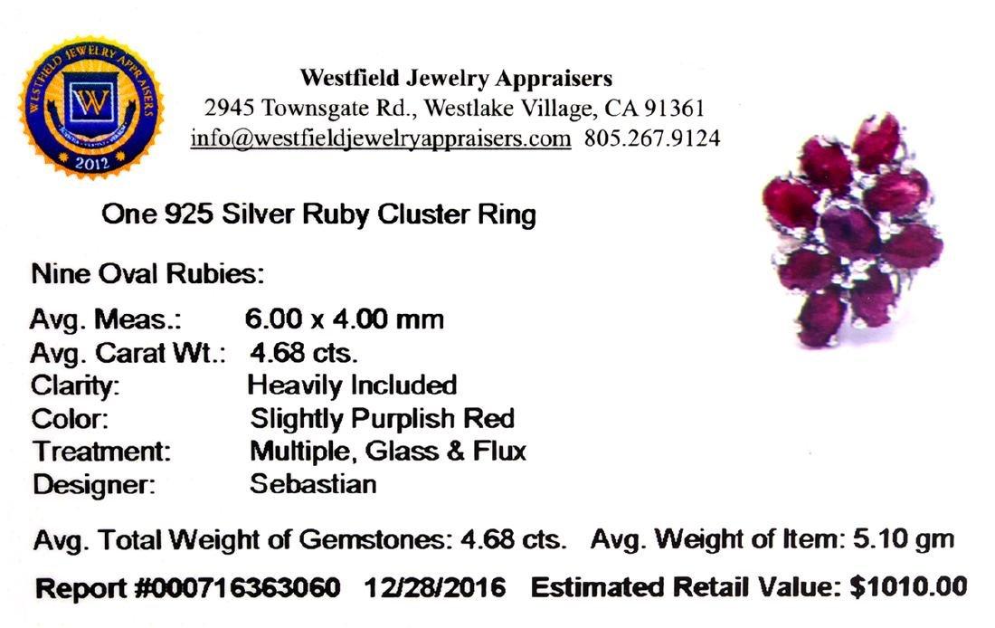 APP: 1k Fine Jewelry Designer Sebastian, 4.68CT Oval - 2