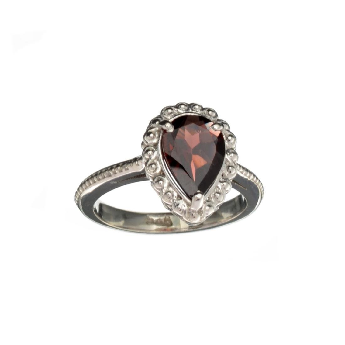 APP: 0.3k Fine Jewelry 2.27CT Pear Cut Red Almandite
