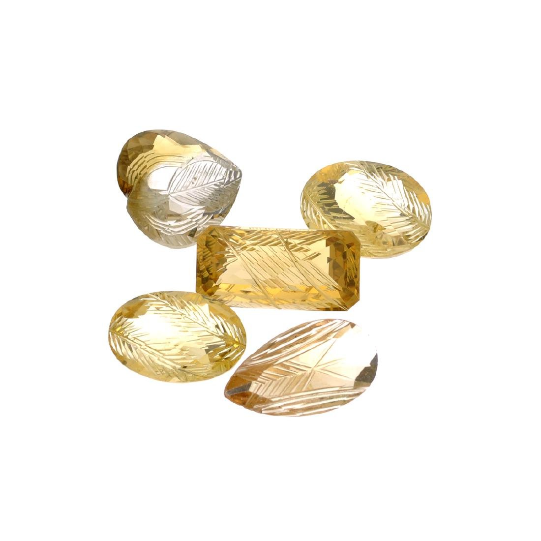 APP: 2.8k 47.48CT Carved Various Shapes Citrine Parcel