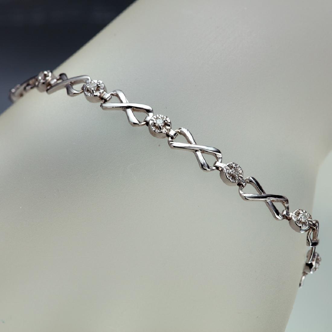 APP: 2.3k *Fine Jewelry 14 KT White Gold, 0.26CT Round
