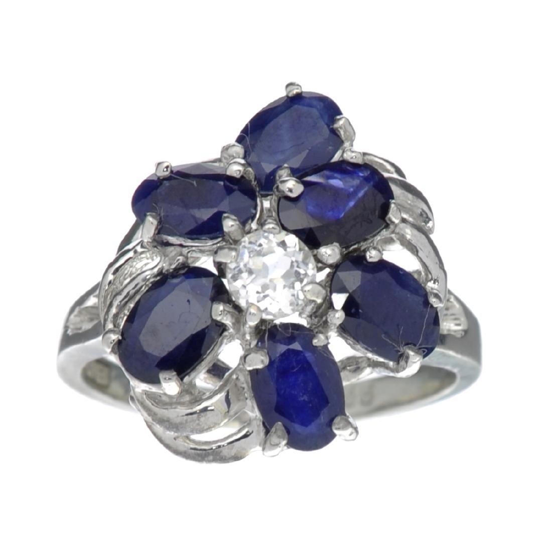 APP: 1.3k Fine Jewelry Designer Sebastian, 3.47CT Blue