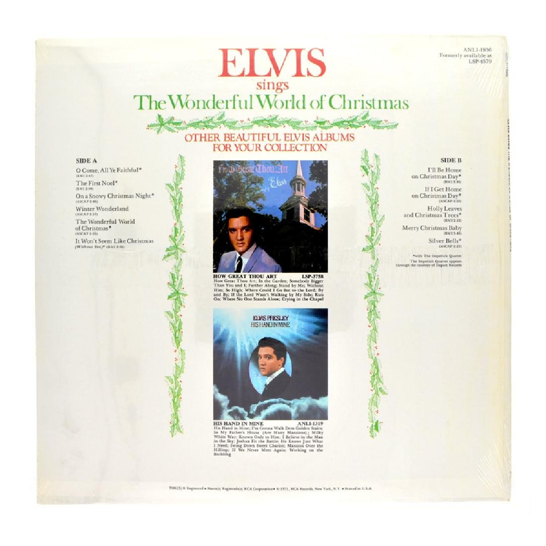 Rare Original Vintage Elvis Album - 2