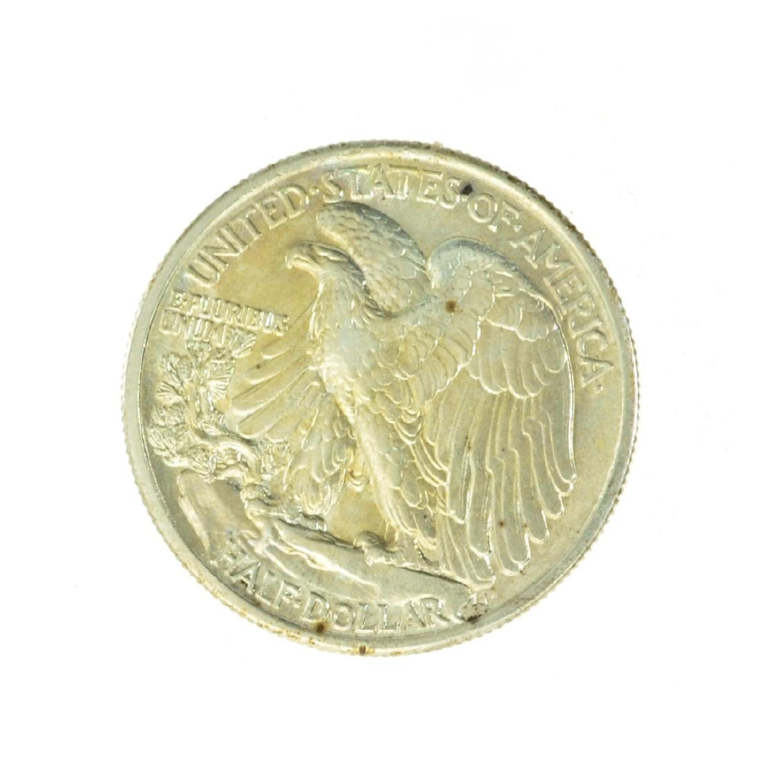 1934 Walking Liberty Half Dollar Coin - 2