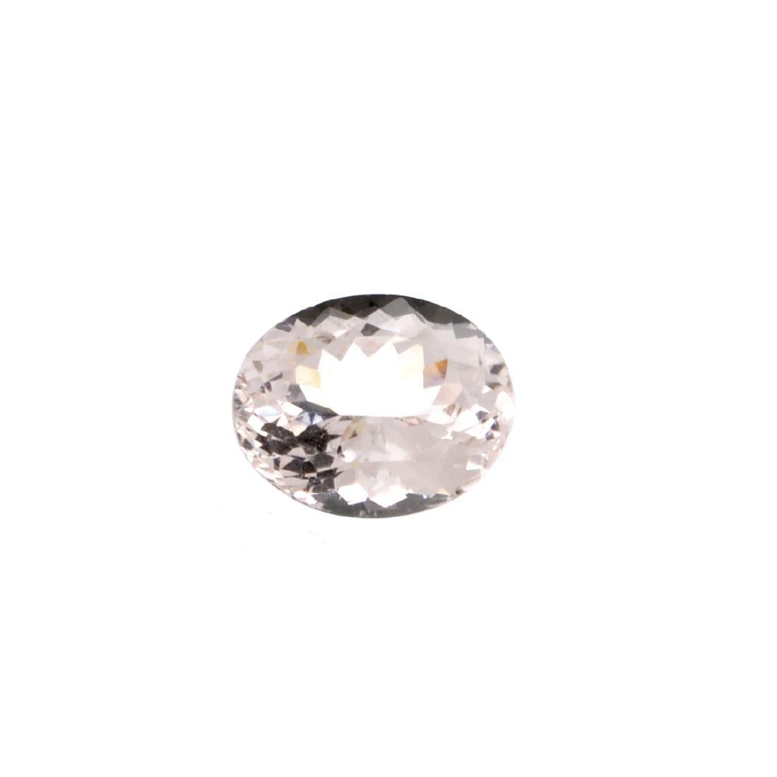High End Rare 3.80CT Morganite Stone