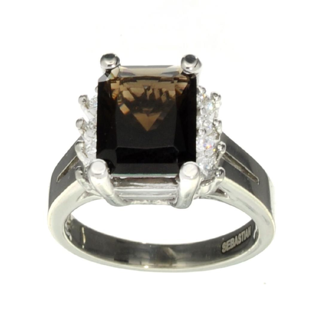 APP: 0.6k Fine Jewelry Designer Sebastian, 3.67CT Smoky